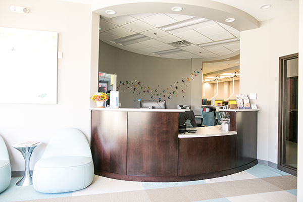 Midlothian Pediatric Dentist Front Desk