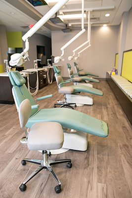 Midlothian Pediatric Dentist Treatment chairs