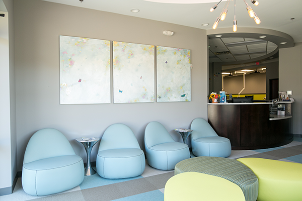 Midlothian Pediatric Dentist Waiting area 2
